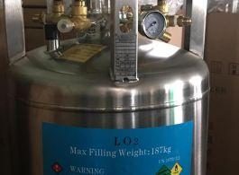 Oxy Lỏng, Bình Oxy lỏng áp suất cao cho máy lazer, máy CNC
